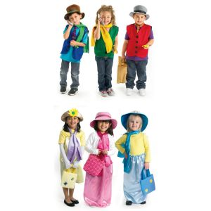 Excellerations® Ladies' and Gentlemen's Dress-Up Set 24 Pieces
