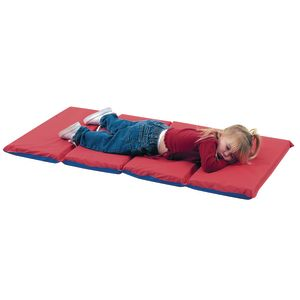 "1"" Thick Rest Mat, 4 Fold - Box of 10"