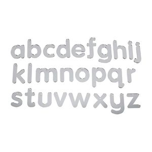 Mirrored Alphabet Letters- Lowercase, 26 Pieces