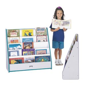 Rainbow Accents® Single-Sided Pick-a-Book Stand - Teal