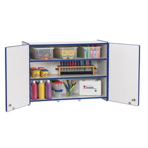 Rainbow Accents® Lockable Wall Cabinet - Blue