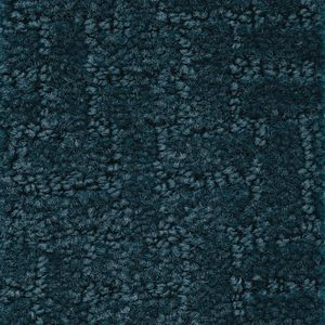 Soft-Touch Texture Navy Blue 6' x 9' Rectangle Solid Carpet
