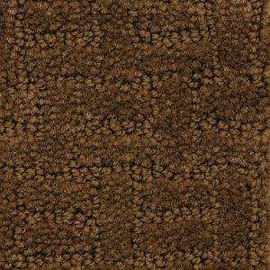 Soft-Touch Texture Rug, Dark Brown - 6' x 9' Rectangle