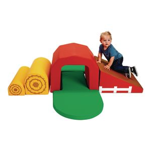 Environments® Soft Play Barn and Tunnel Climber