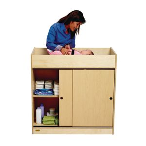 Angeles Value Line™ Birch Changing Table
