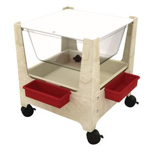 See All Sand and Water Table with Lid - Sandstone