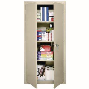 Art Supply Storage Closet - Putty