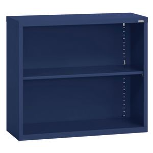 Elite Welded Bookcase - 1 Shelf - Navy