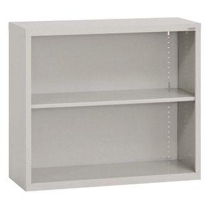 Elite Welded Bookcase - 1 Shelf - Granite