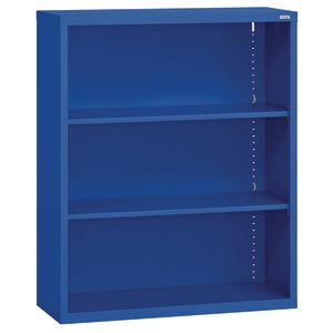 Elite Welded Bookcase - 2 Shelves - Blue