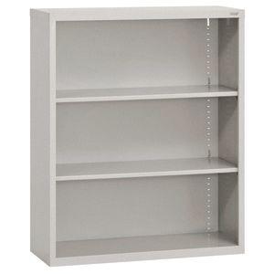 Elite Welded Bookcase - 2 Shelves - Granite