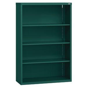 Elite Welded Bookcase - 3 Shelves - Forest Green