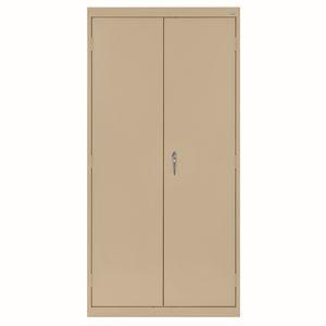 Large Locking Metal Cabinet - Tropic Sand