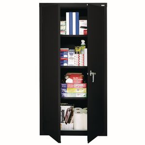 Space-Miser Metal Storage Unit - Black