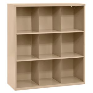 Cubbie Storage Organizer - 9 Cubbies - Tropic Sand