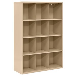 Cubbie Storage Organizer - 12 Cubbies - Tropic Sand