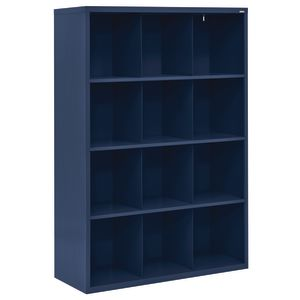 Cubbie Storage Organizer - 12 Cubbies - Navy