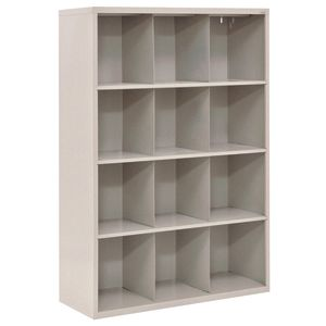 Cubbie Storage Organizer - 12 Cubbies - Granite