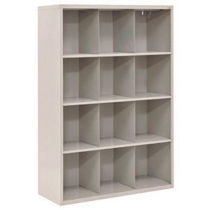 Cubbie Storage Organizer - 12 Cubbies - Granite