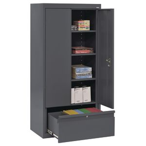 Metal Storage Cabinet with Drawer- 42