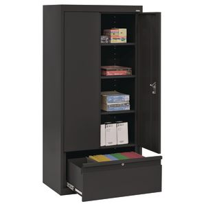 Metal Storage Cabinet with Drawer- 64