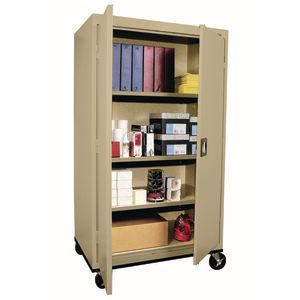 Mobile Metal Storage Cabinet - 66