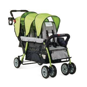 Trio Sport™ 3-Passenger Stroller - Lime Green