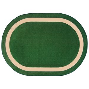 "Portrait Carpet - Oval - 3'10"" x 5'4"" - Greenfield"