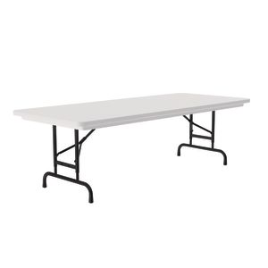 Plastic Top Folding Table - Gray Granite