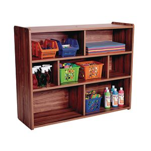 Divided 3-Shelf Storage Unit, 38