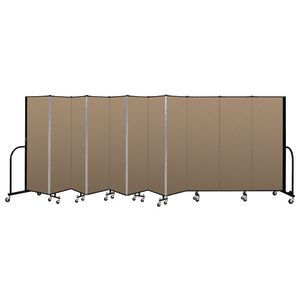 "Portable Room Divider 20'5"" x 6' - Desert"
