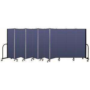 "Portable Room Divider 20'5"" x 6' - Blue"