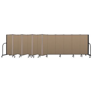 "Portable Room Divider 24'1"" x 5' - Desert"