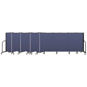 "Portable Room Divider 24'1"" x 5' - Blue"