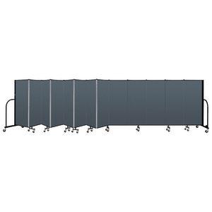 "Portable Room Divider 24'1"" x 5' - Marine Blue"