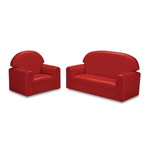 Brand New World Toddler Living Room Set - Red