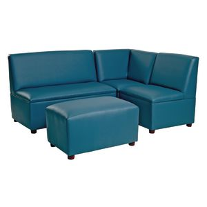 Modern Child Enviro 4 Piece Sectional Set - Blue