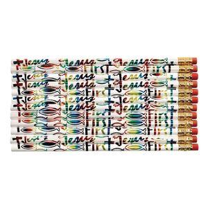 Jesus First Pencils Set of 12