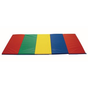 4' x 4' Rainbow Folding Mat