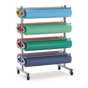 8-Roll Floor Rack with Casters