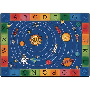 "Milky Play Literacy 8'4"" x 11'8"" Rectangle Premium Carpet"