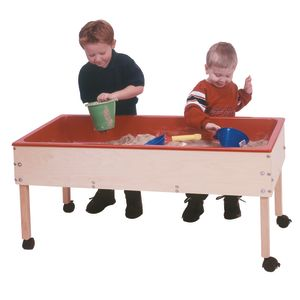 Sand and Water Table with Shelf - 18