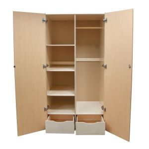 Wood Teachers Storage Cabinet