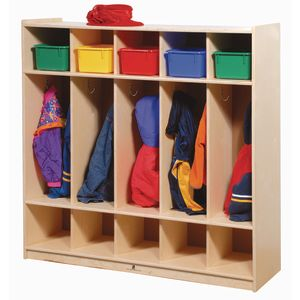 Angeles® 5-Section Locker