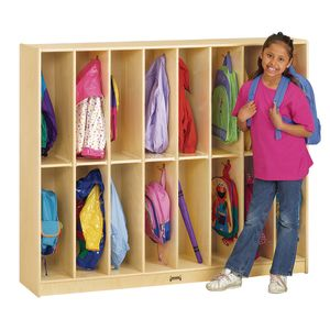 Twin Trim Lockers - 16 Sections