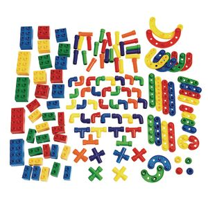 Classroom Construction Set of 3 Manipulatives - 95 Pieces