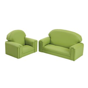 Environments PVC-Free Mini Club Chair & Sofa Sage