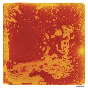 Excellerations Large Liquid Tile Orange