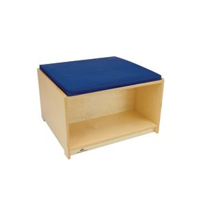 Flexible Space Reading Bench and Book Storage Cabinet
