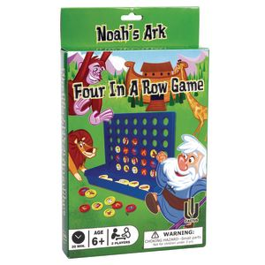 Noah's Ark Four-in-a-Row Game